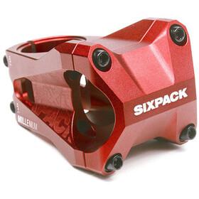 Sixpack Millenium Styrstam Ø35,0 mm röd